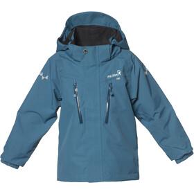 Isbjörn Storm Hard Shell Jacket Kids petrol